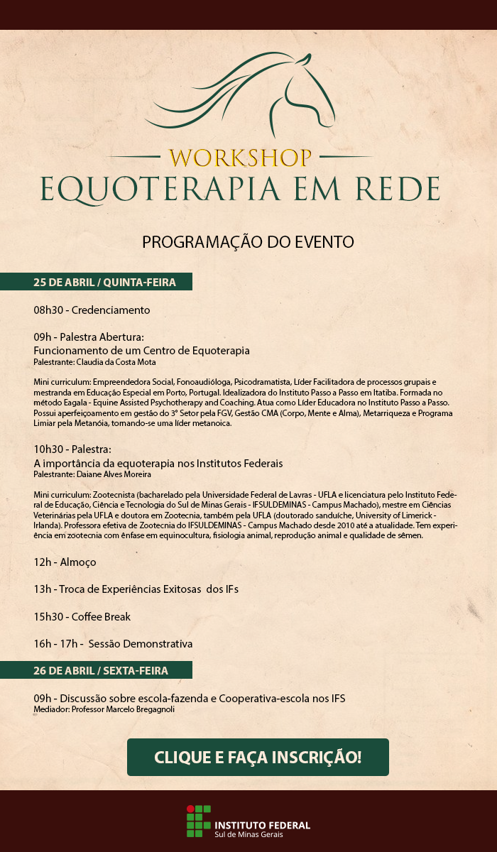 workshop equoterapia