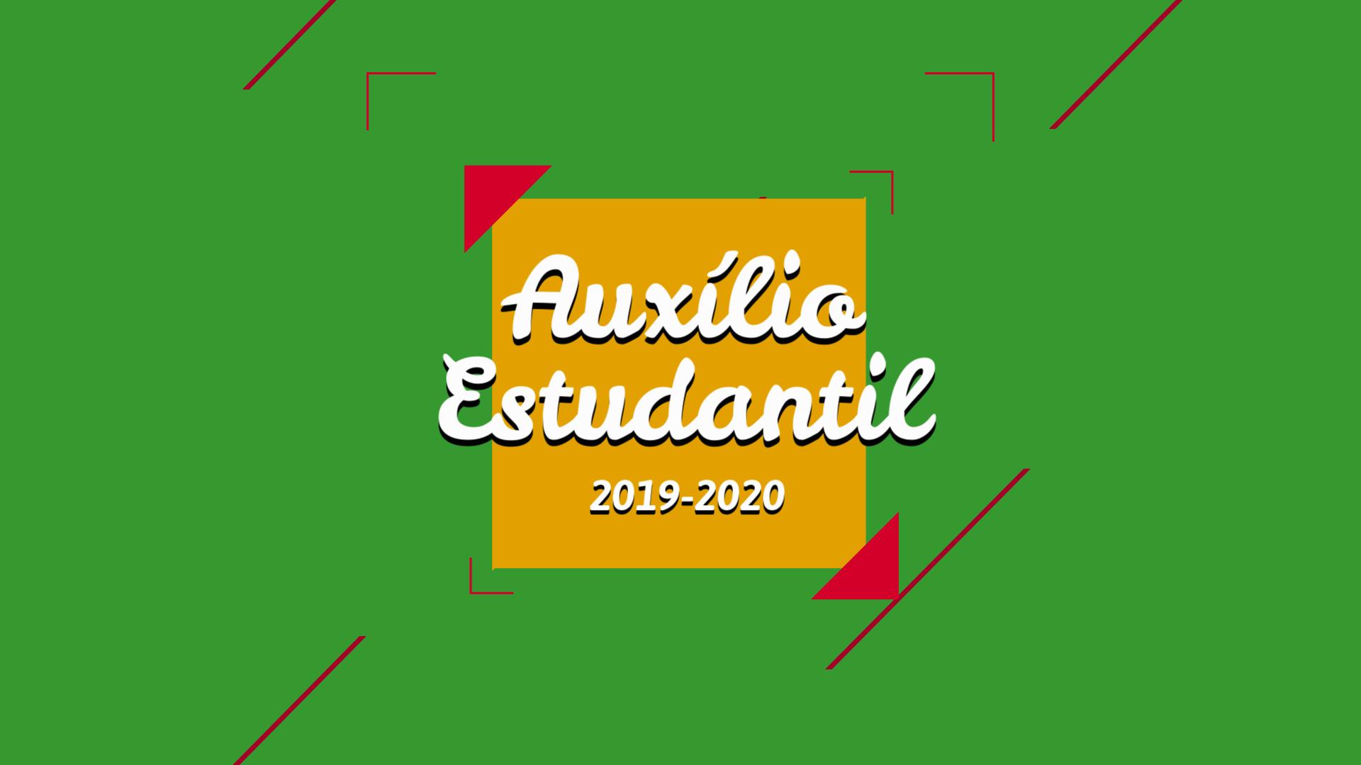 apresentacao auxilio estudantil 2019-2020