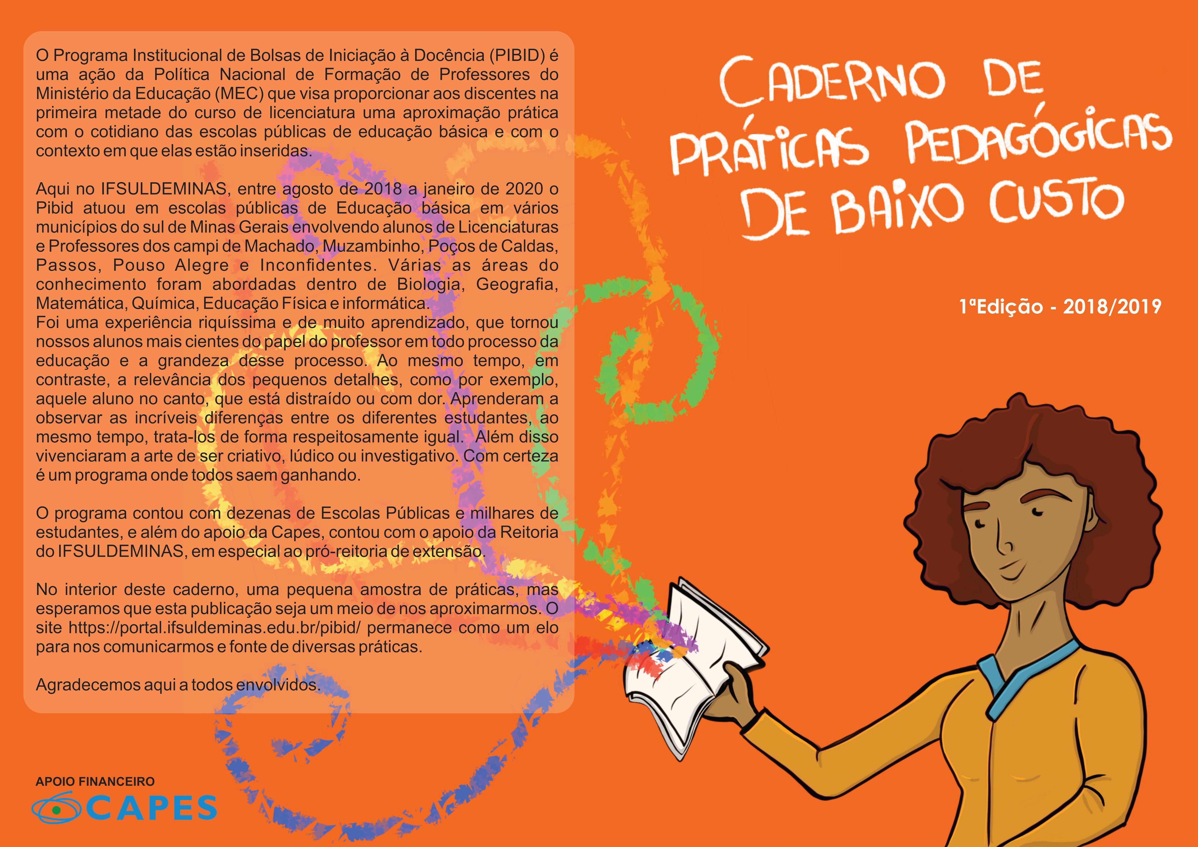 Caderno de Práticas Educativas de Baixo Custo para Educação Básica