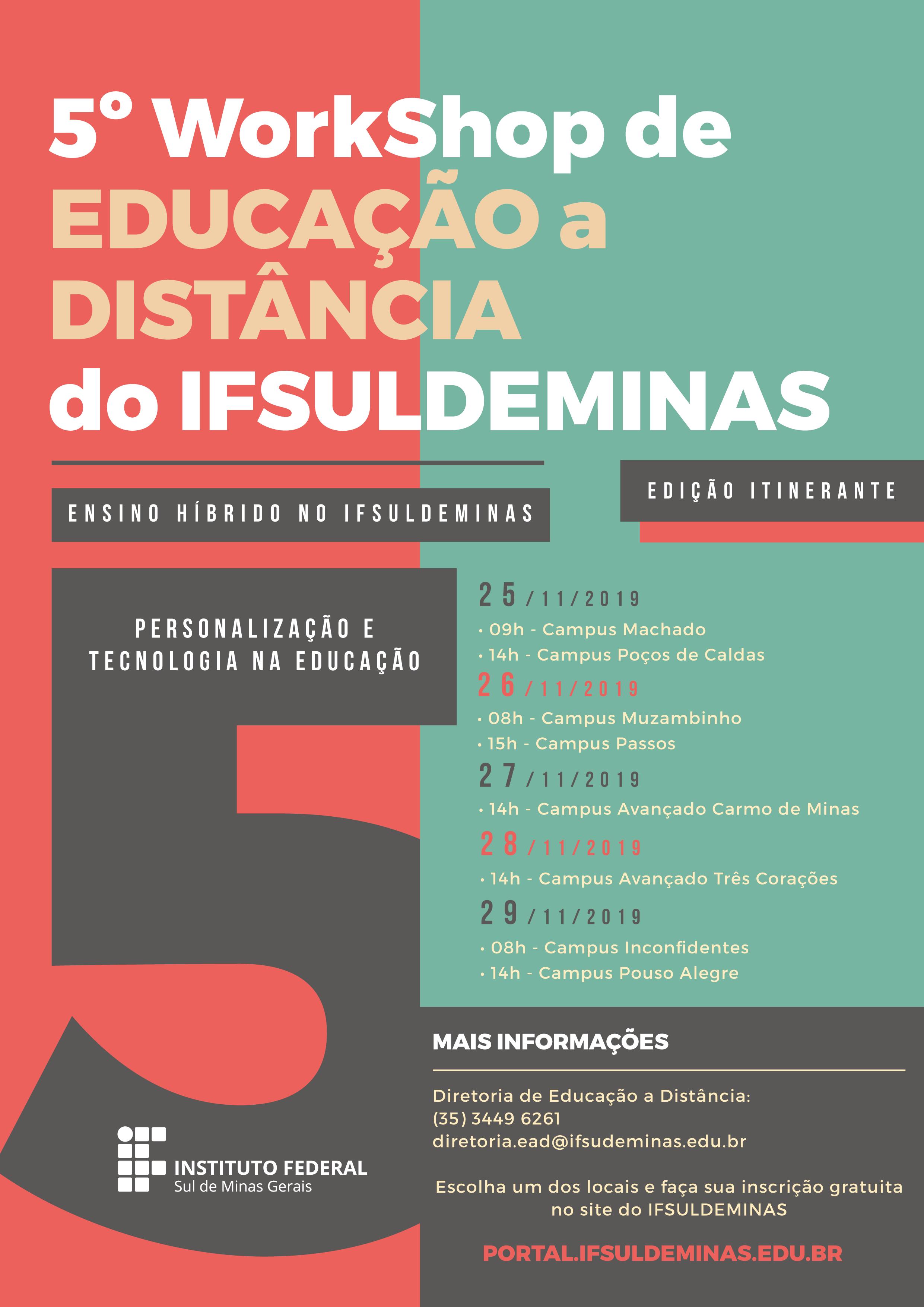 A4 5º Workshop De Educação EAD