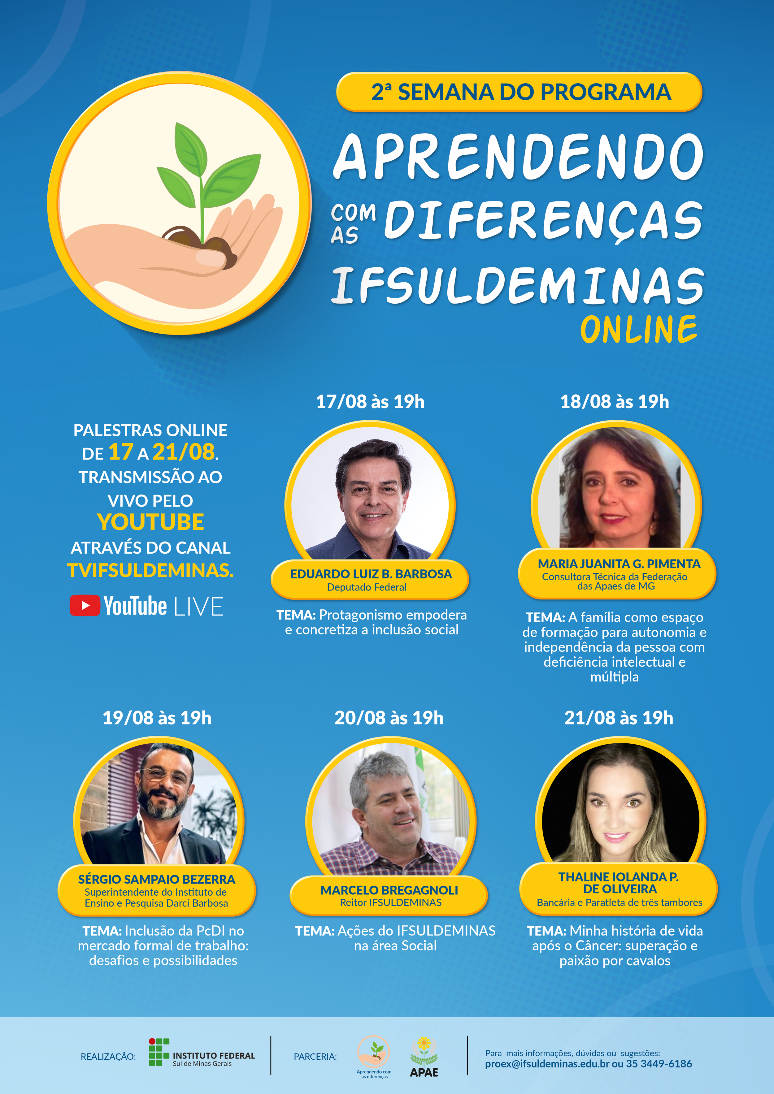 Cartaz A3 Semana Nacional da Pessoa Com Deficiência Intelectual e Múltipla v4