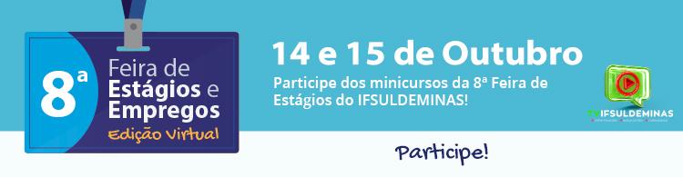 Edição virtual da Feira acontece nos dias 14 e 15/10. Confira a programação!