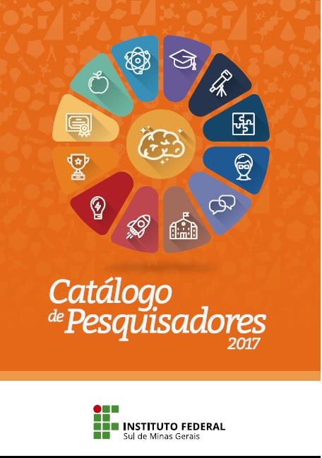 Capa Catálogo de Pesquisadores